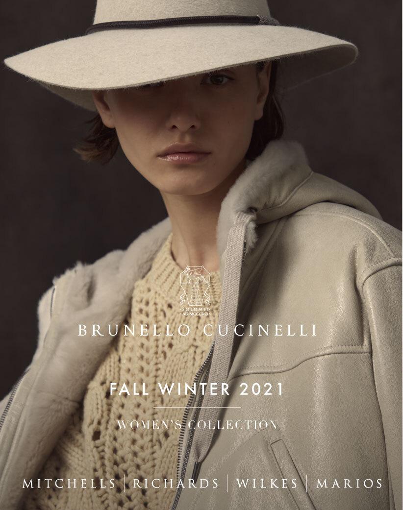 Mitchells Womens Fall 2021 Brunello Cucinelli Look Book