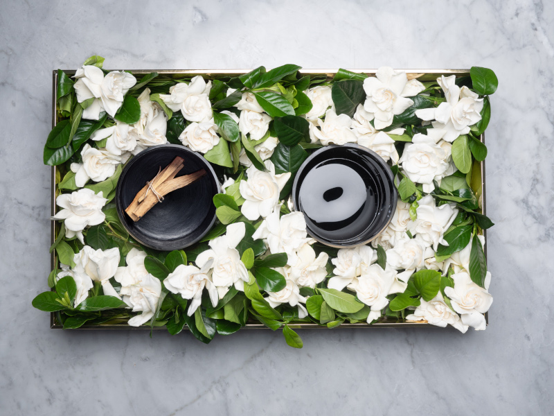 Grand Studio Vine and Bloom Gardenia box