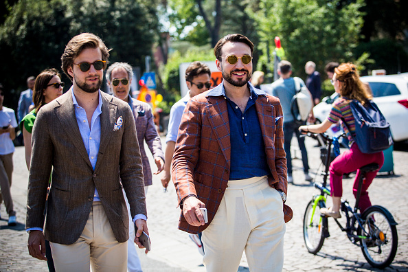 Fashionable Italian Men
