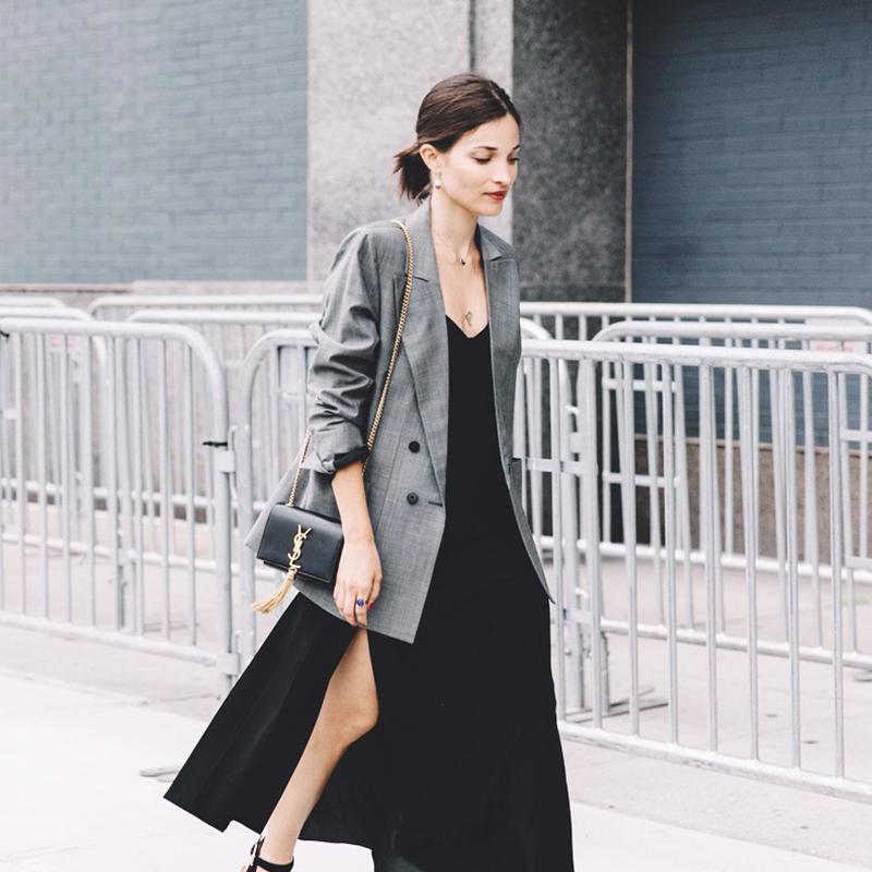 Blazer Street Style Look