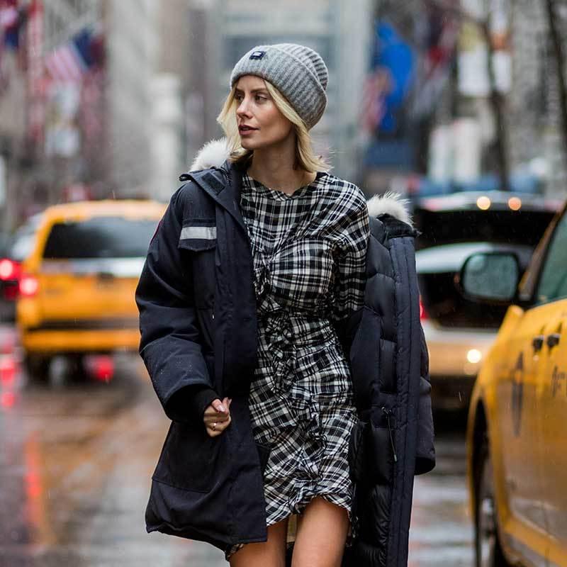 winter coat street style
