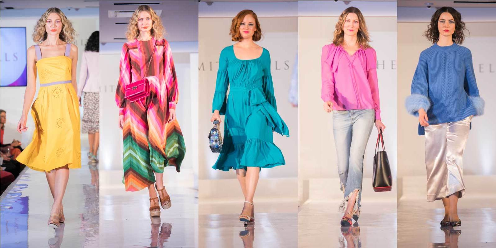 Bold Brights ruled our runway and was one of Spring's most important trends.  See our wide selection of saturated hues