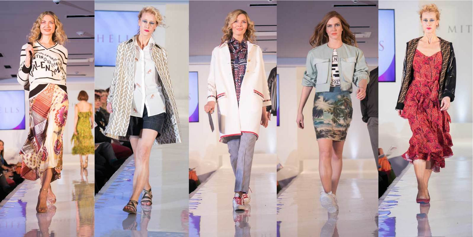 Shop the Must have Logomania trends seen all over the Spring Runways.