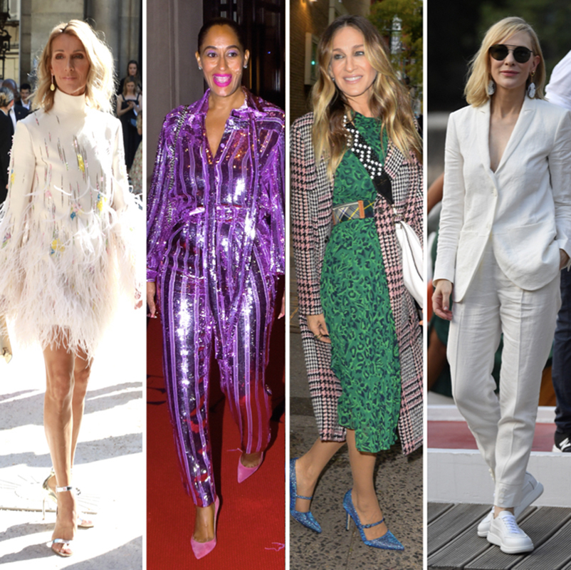 See how these stylish women show that the rules don't apply! Wearing whatever makes them feel good and are not afraid to