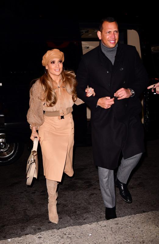 J.Lo and Alex Rodriguez