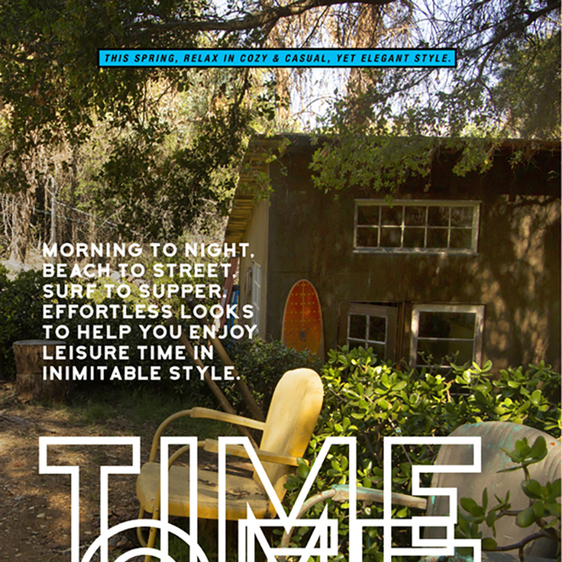 Time Off Editorial Cover
