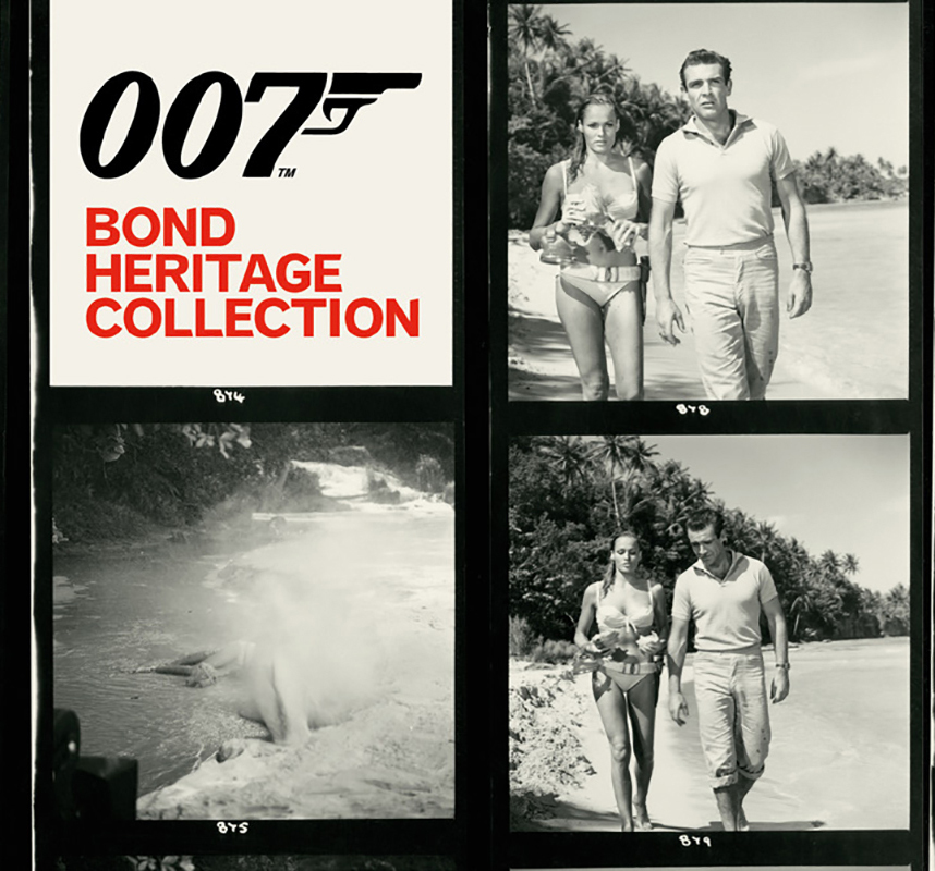 Discover the Orlebar Brown 007 Bond Heritage Collection, inspired by James Bond's iconic style.