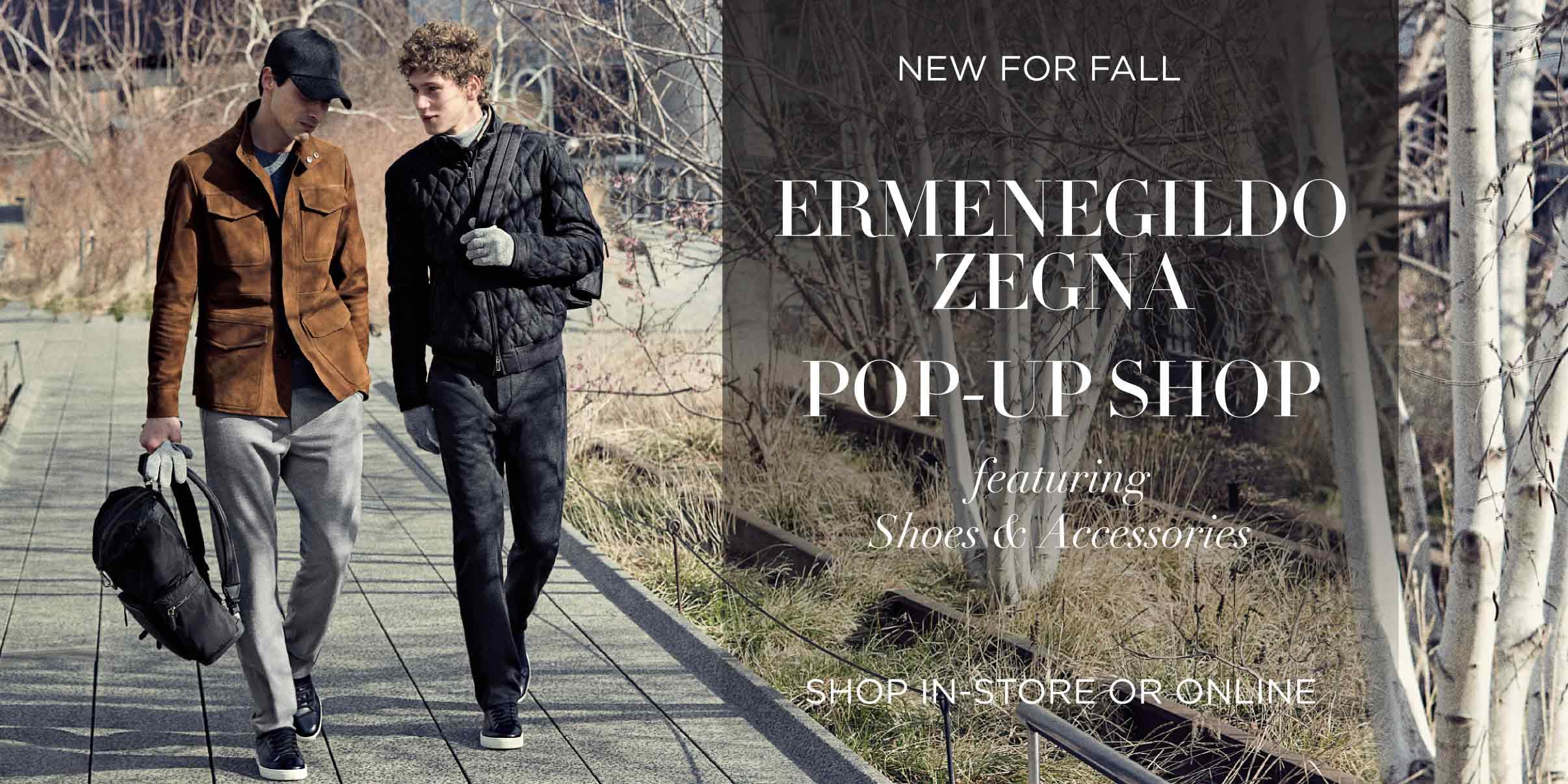 Ermenegildo Zegna Pop-Up Shop