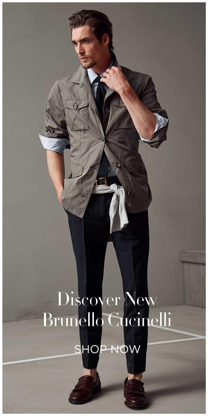 Discover New Brunello Cucinelli