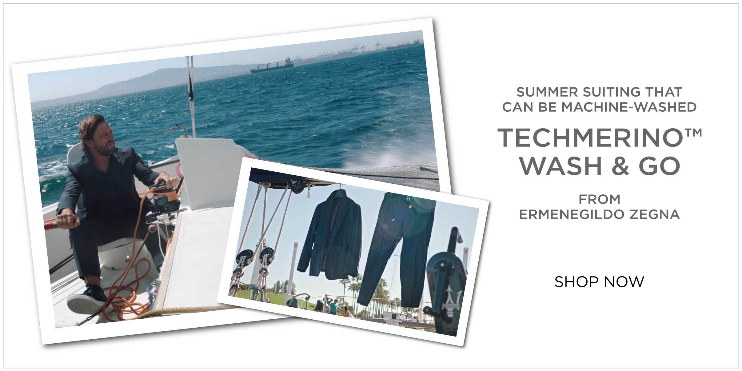 Ermenegildo Zegna Technomerino Wash and Go