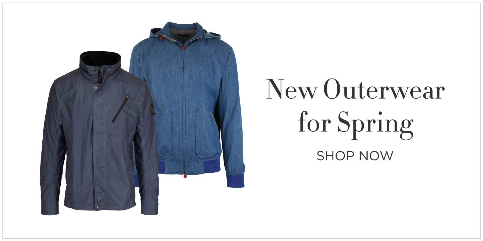 New Mens Outerwear