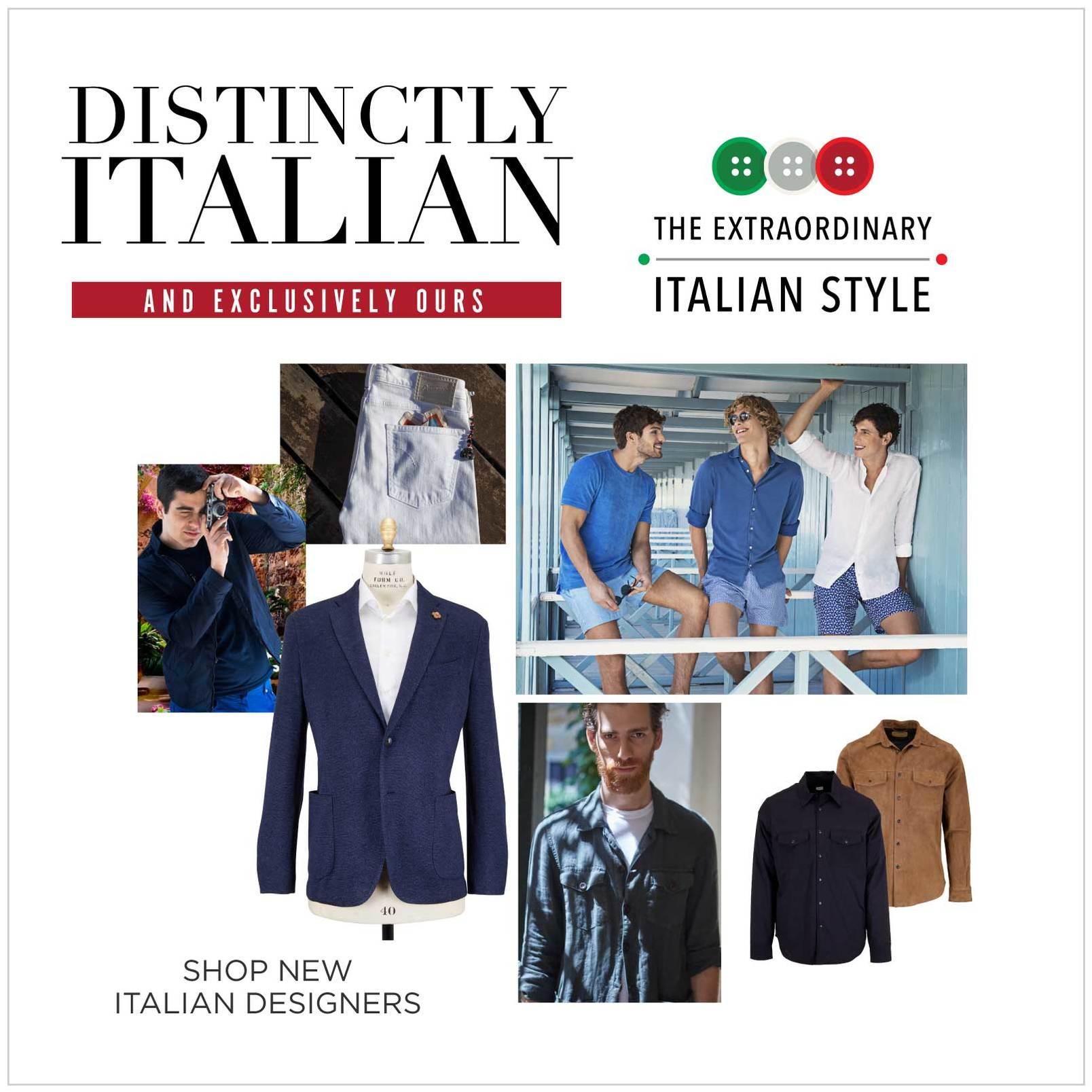 Distinctly Italian