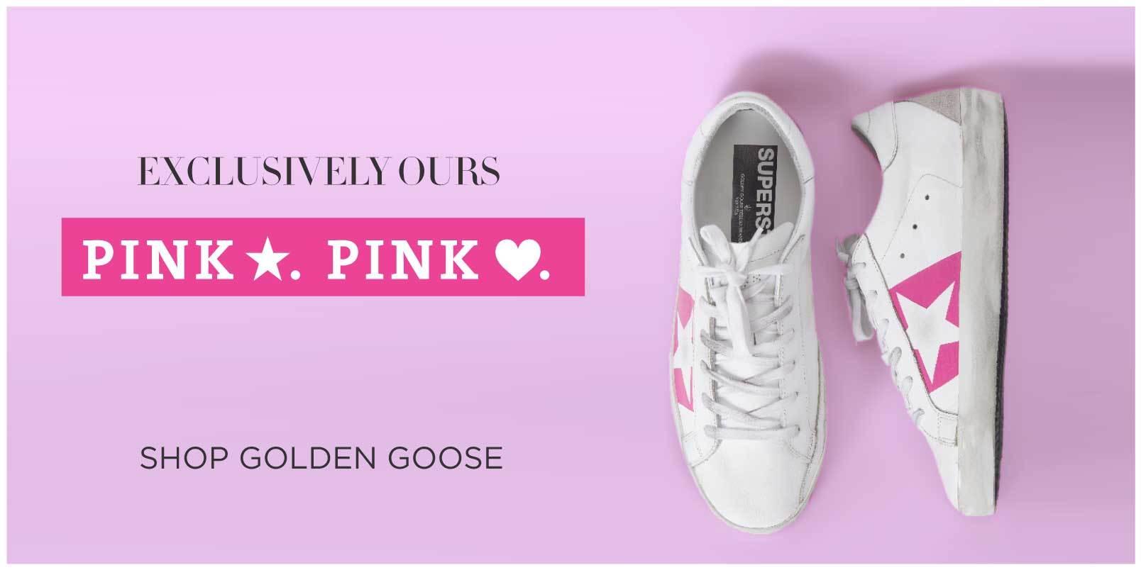 Exclusive Golden Goose Sneaker