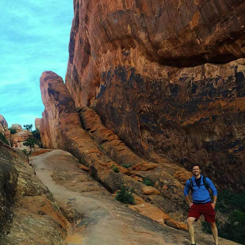 Nate Checketts, Co-Founder & CEO of Rhone Hiking