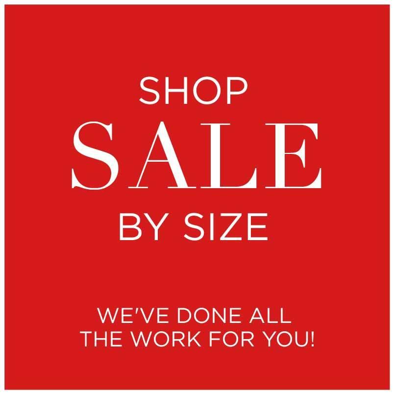Shop Sale by Size