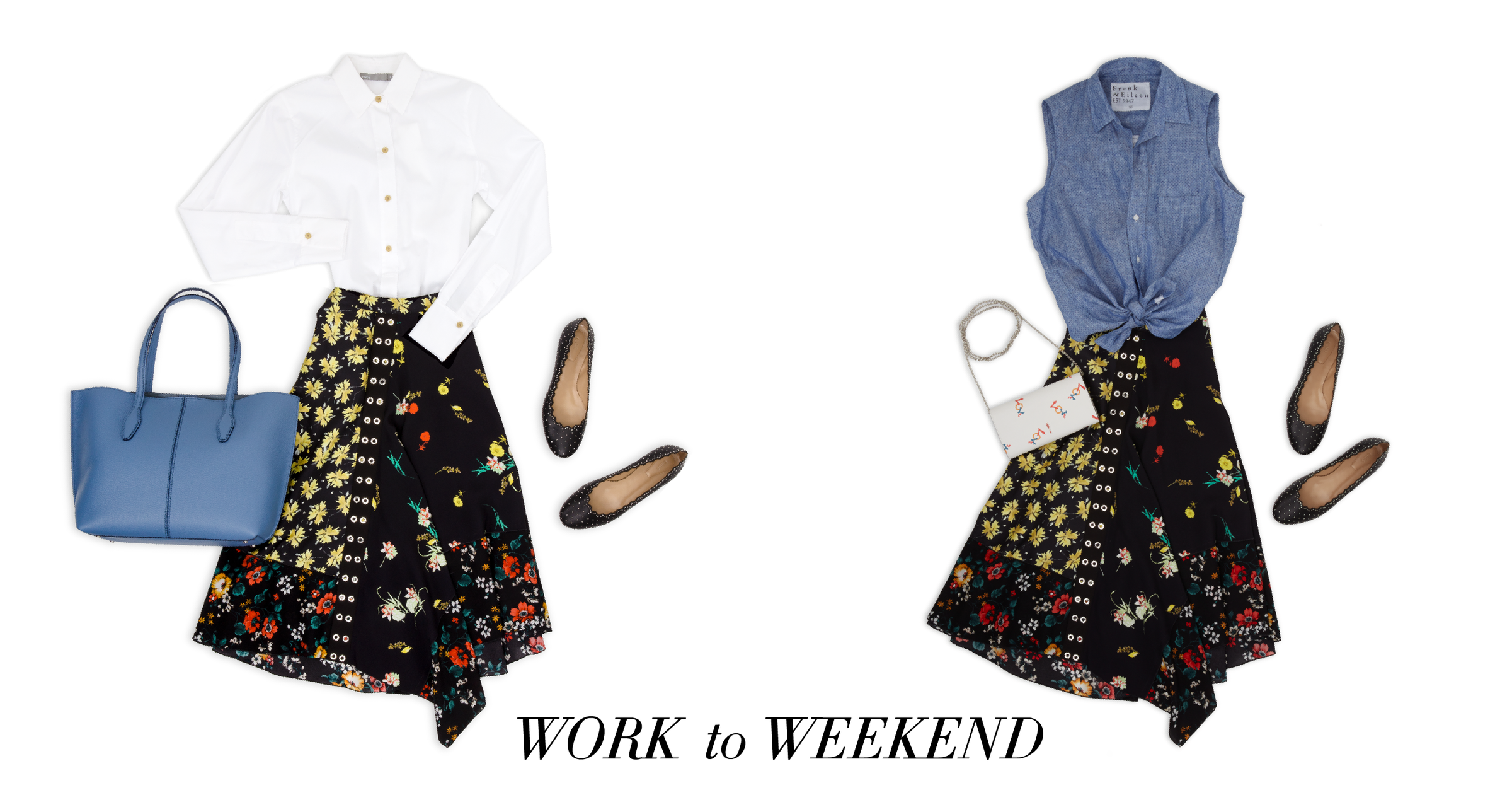 Double Duty - Work to Weekend Outfits