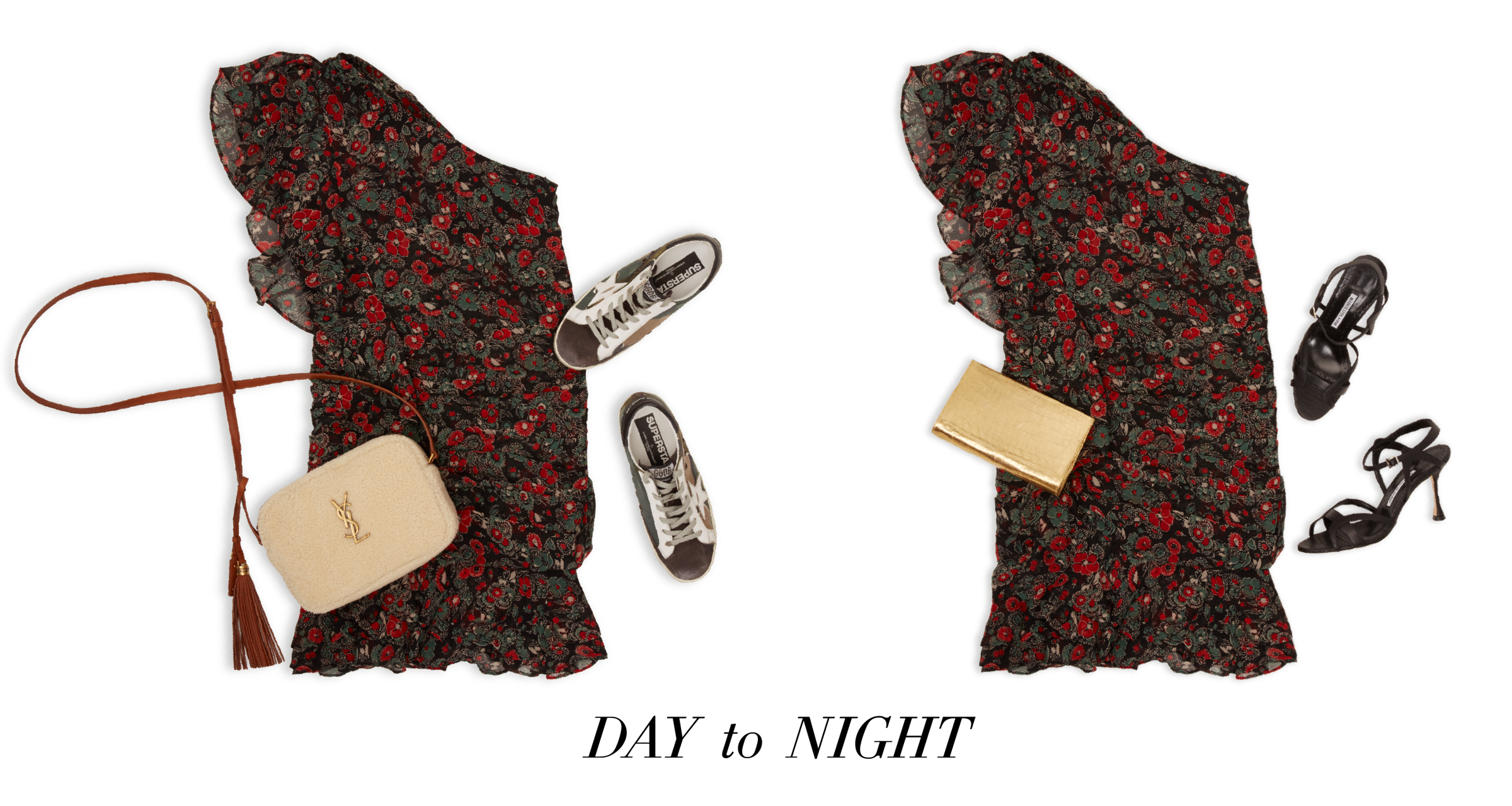 Double Duty - Day to Night Outfits