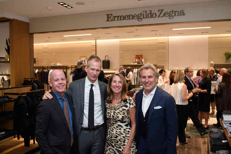 Ermenegildo Zegna shop in shop