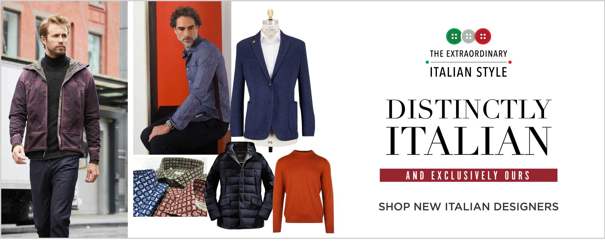 Italian Trade Commission Exclusive Designer Collections