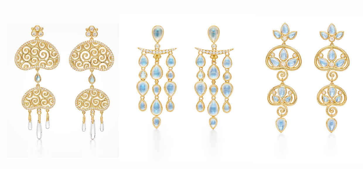 Temple St. Clair Earrings from The Silk Road Collection