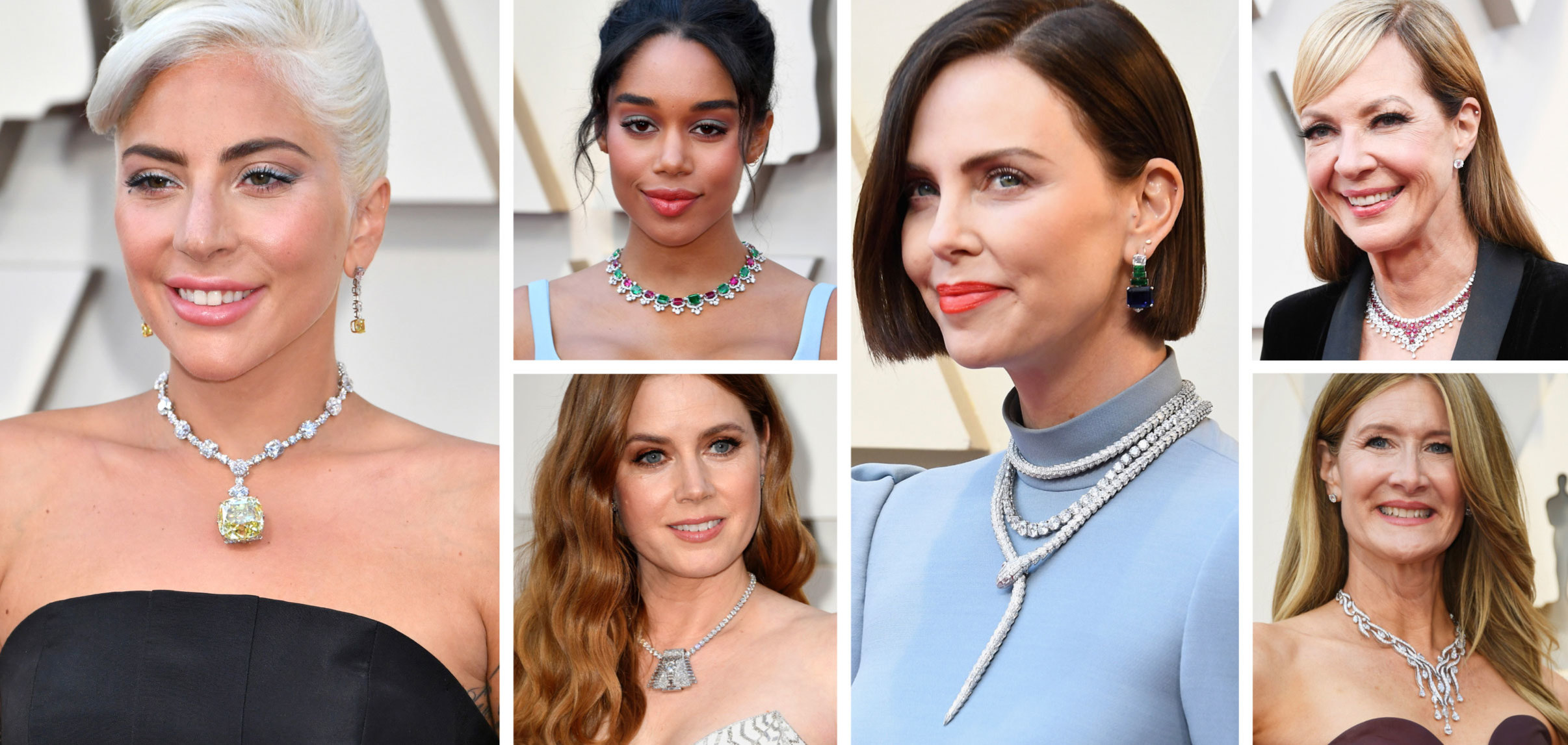The Oscars 2019 Statement Necklace Trend