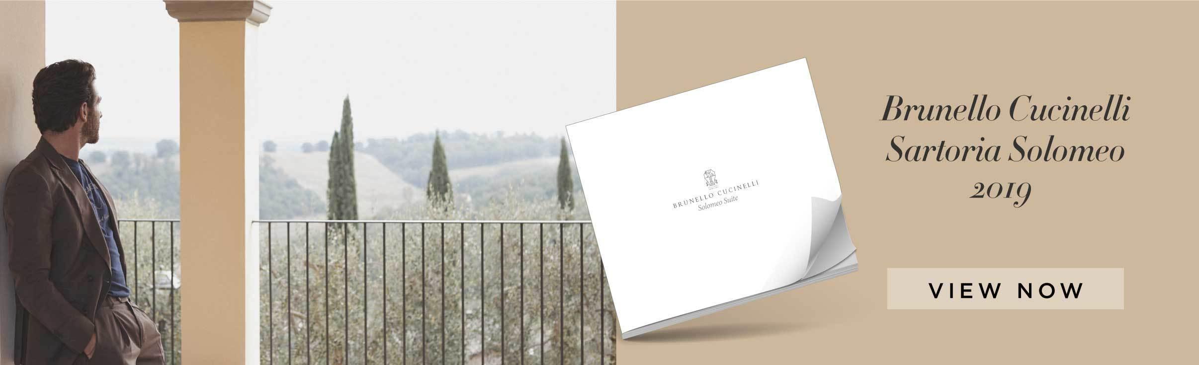 Brunello Cucinelli's Satoria Solomeo Look Book