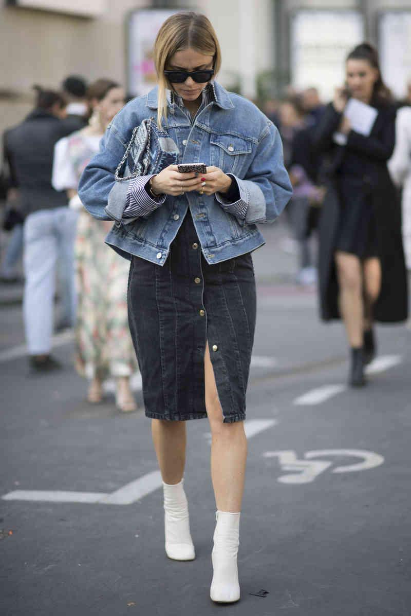 Jean Jacket Street Style