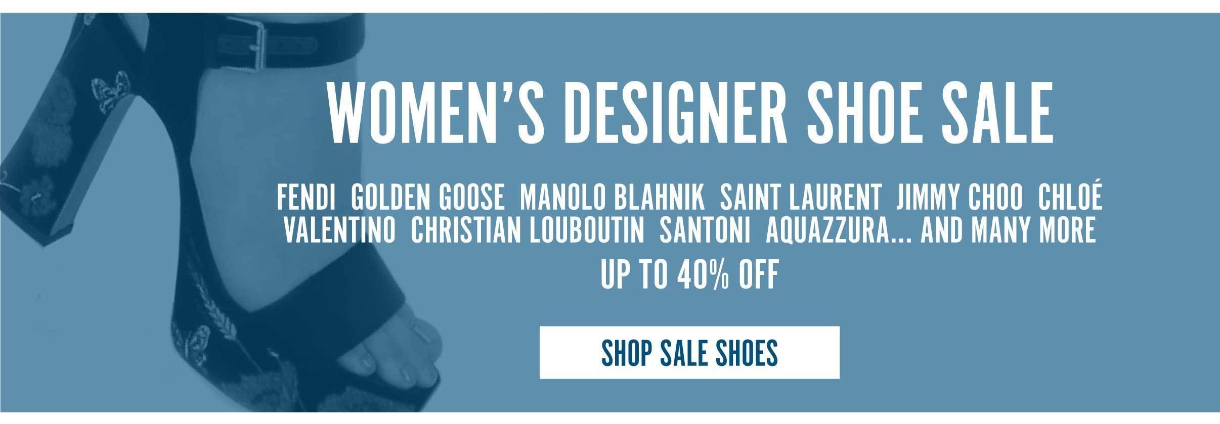 Women's Designer Shoe Sale