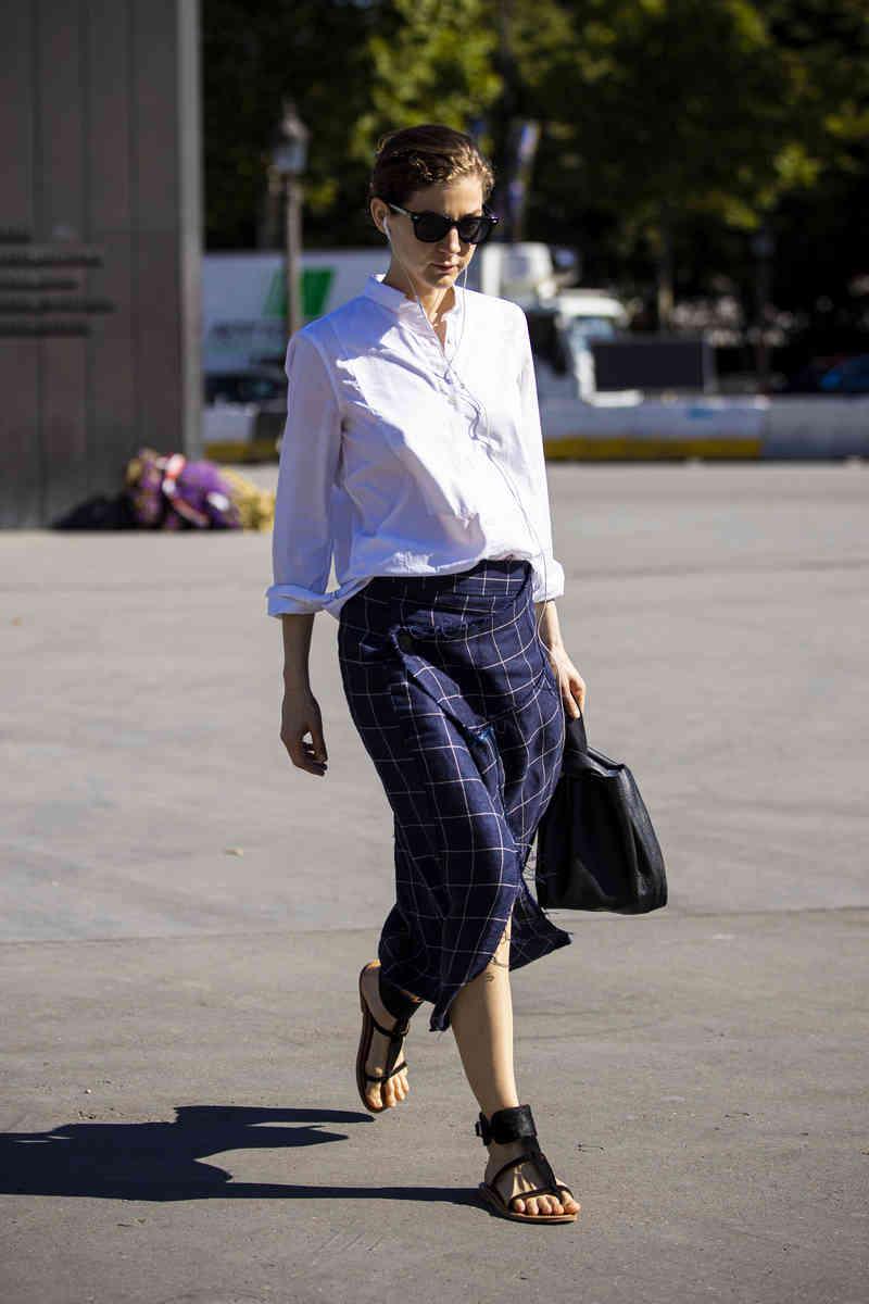 White Shirt Street Style