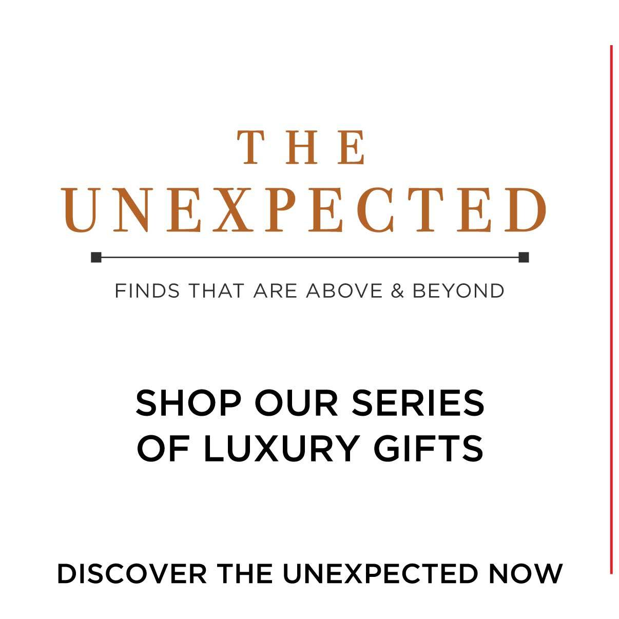 The Unexpected - Finds that are Above & Beyond
