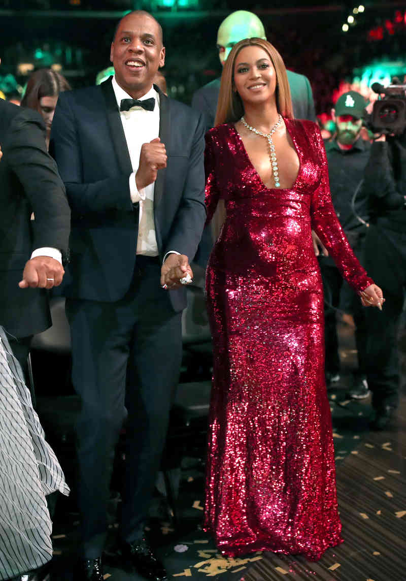 Beyonce and Jay- Z
