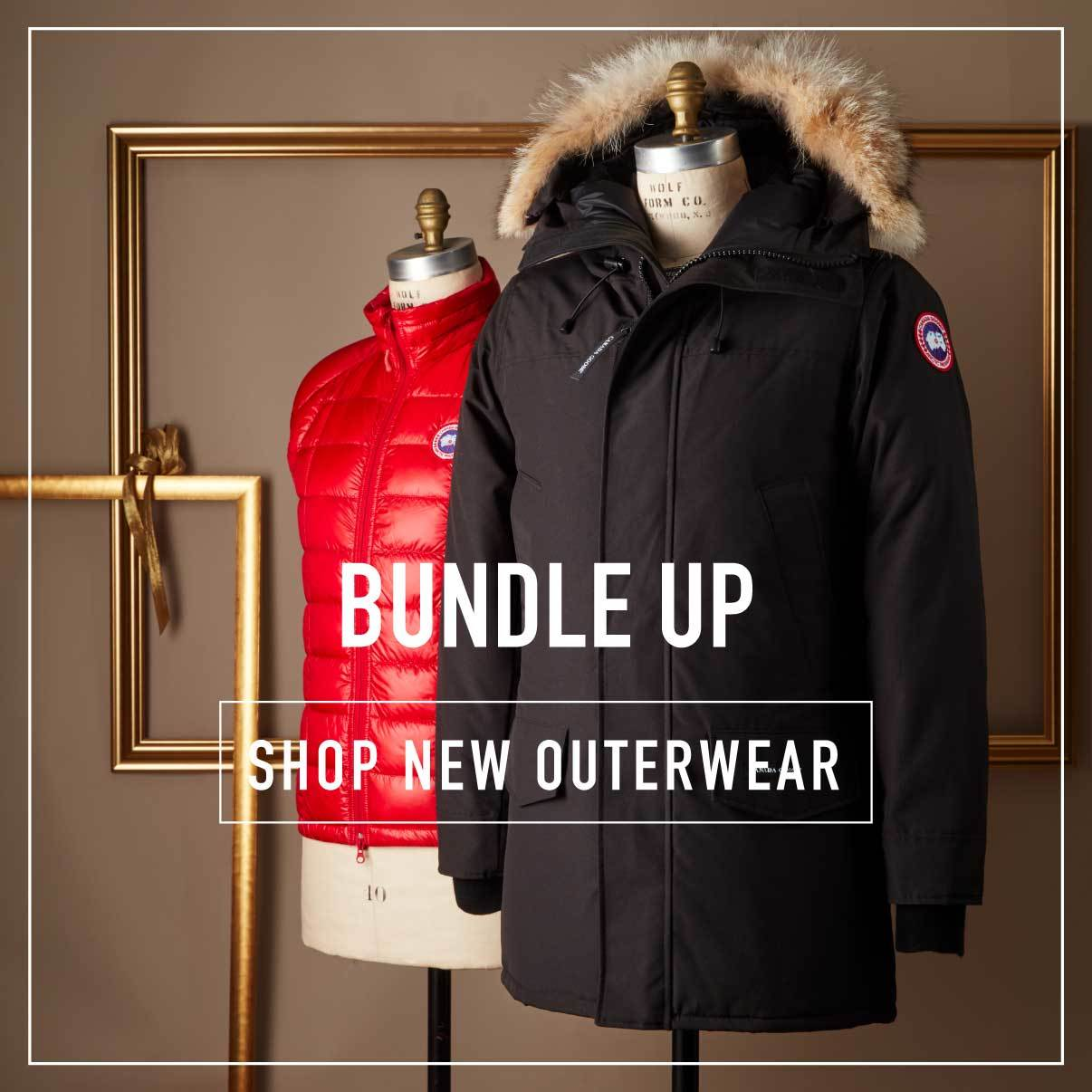 SHop new OUterwear