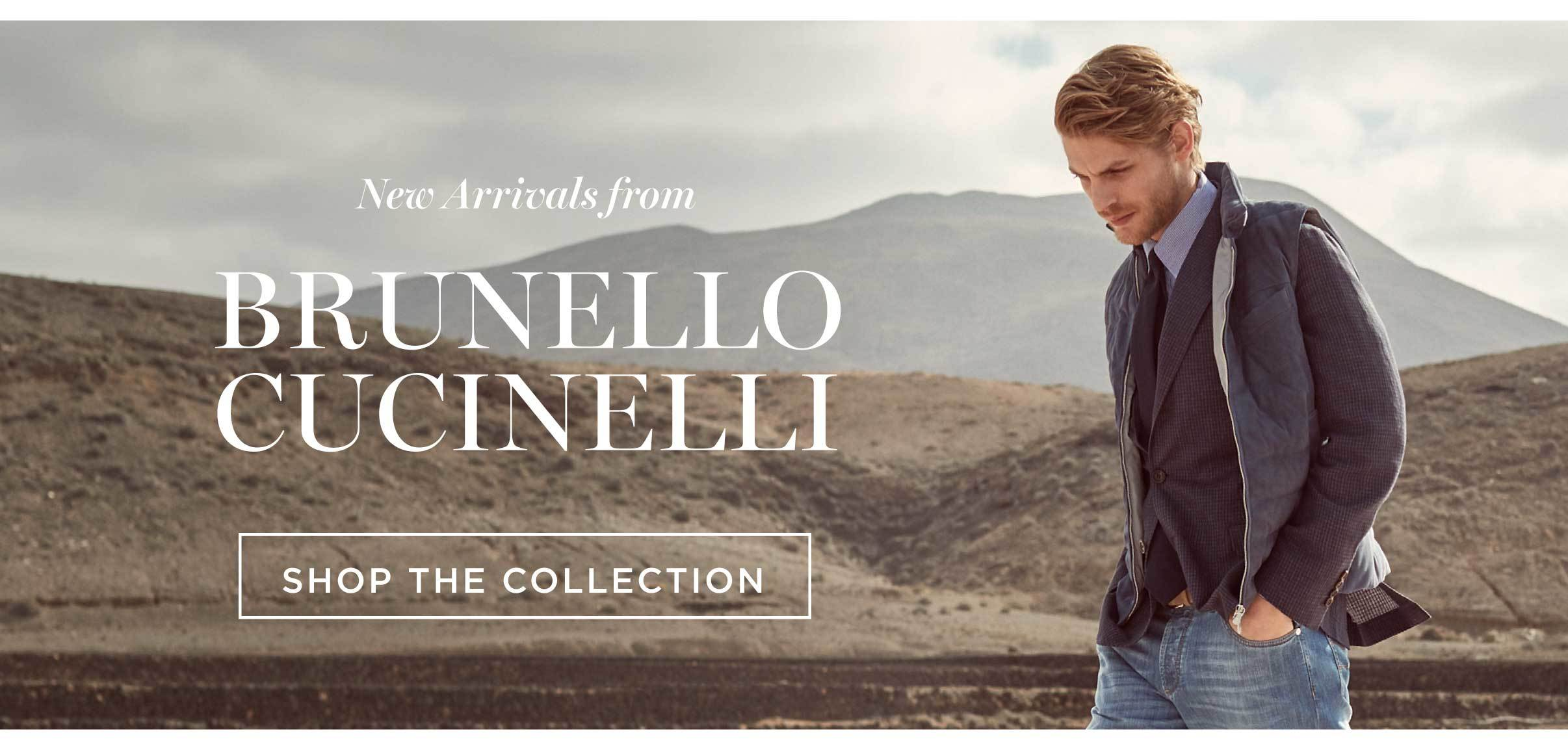 New Arrivals from Brunello Cucinelli
