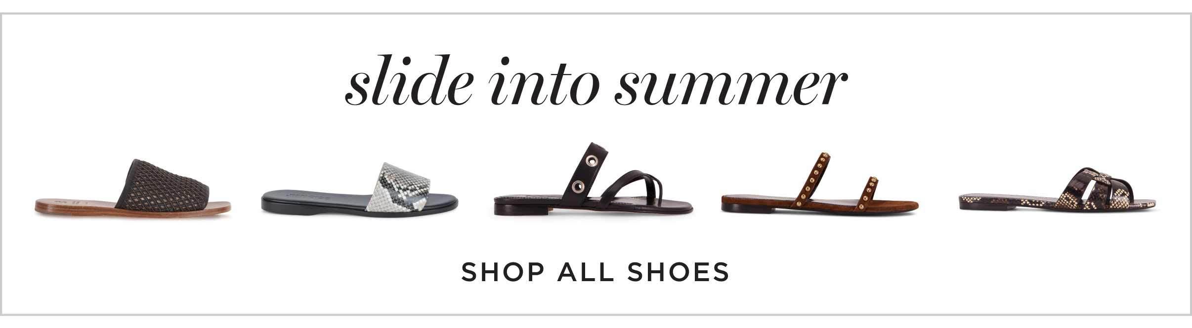 slide into summer