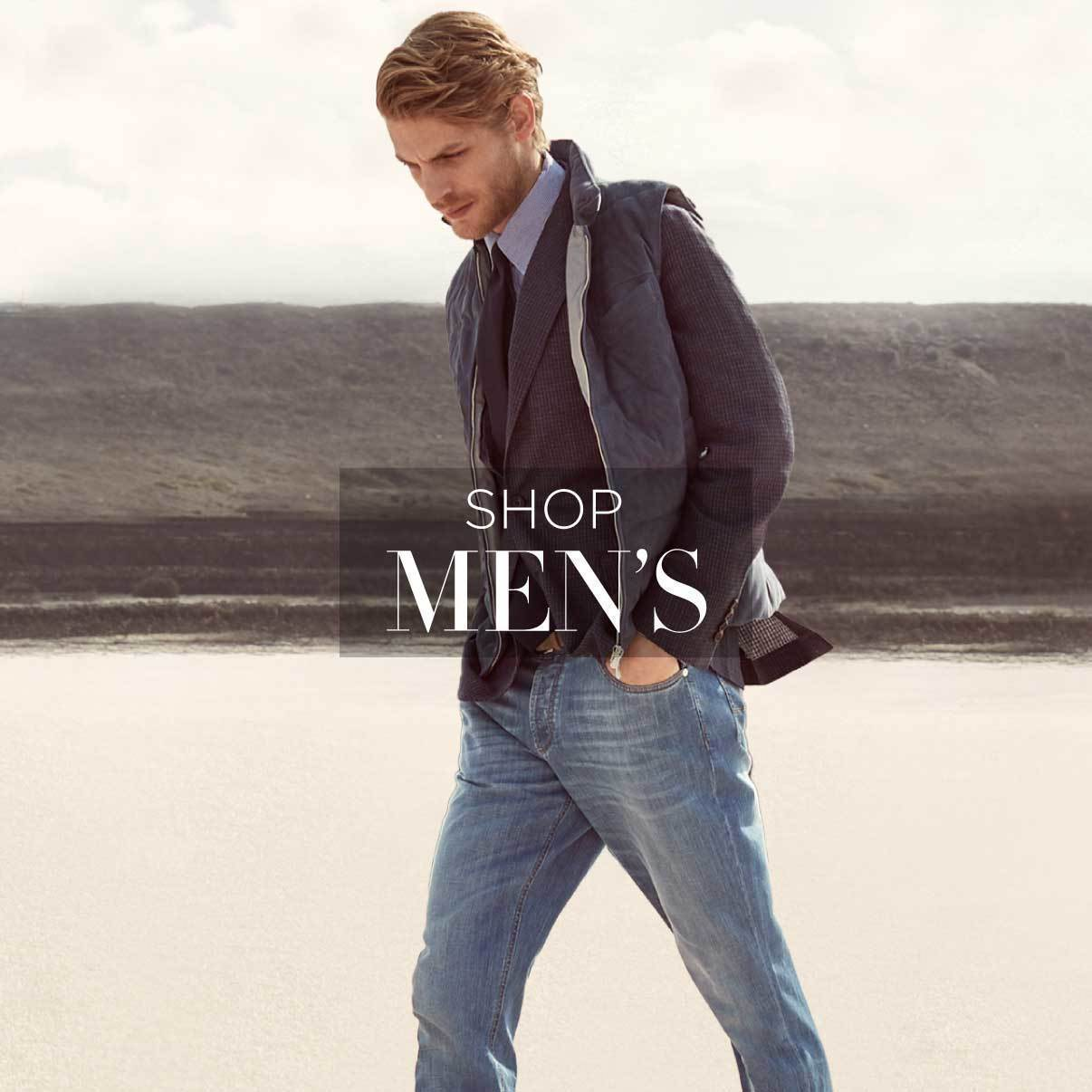 Shop designer men's clothing
