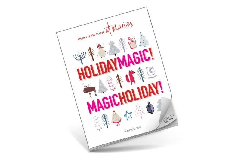 Holiday Magic at Marios