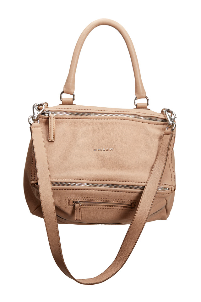Pandora Linen Leather Shopper Tote