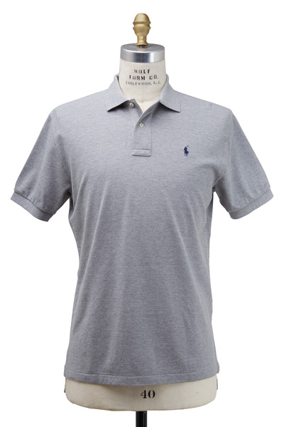 Polo Ralph Lauren - Heather Gray Cotton Polo