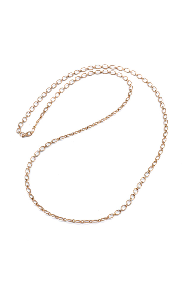 Rose Gold Small Link Necklace