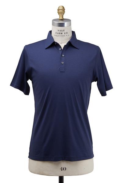 Raffi - Midnight Blue Cotton Polo