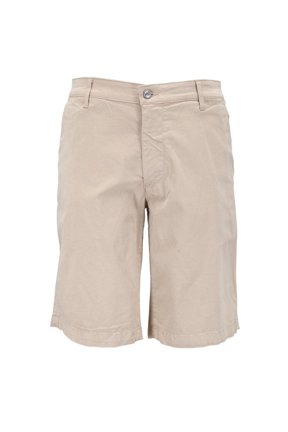 AG - Adriano Goldschmied The Griffin Desert Sky Stretch Cotton Shorts