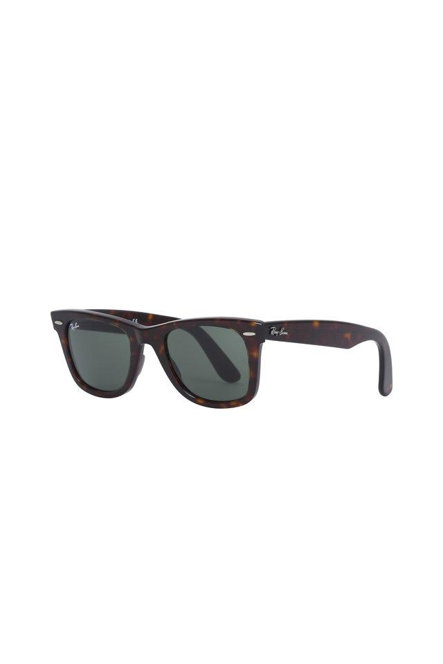 Classic Wayfarer Havana Sunglasses