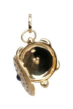 Temple St. Clair - 18K Yellow Gold Sapphire & Diamond Turtle Locket