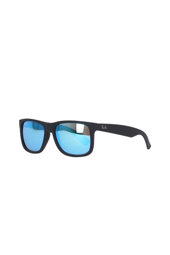Ray Ban Justin Color Mix Blue Mirror Sunglasses