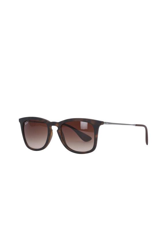 Ray Ban Havana Brown Gradient Sunglasses