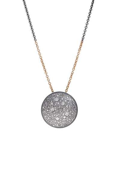 Todd Reed - Gold Autumn & White Diamond Necklace