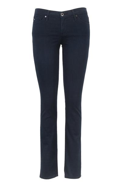 AG - Stilt Dark Iris Cigarette Leg Jean