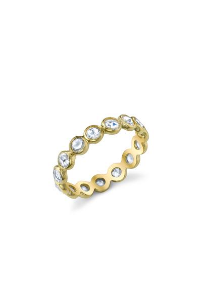 Irene Neuwirth - Yellow Gold White Diamond Ring