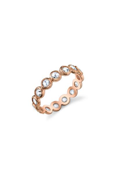 Irene Neuwirth - Rose Gold Rose-Cut White Diamond Ring