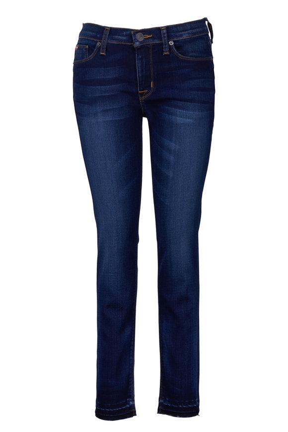 Hudson Clothing Krista Super Skinny Cropped Released Hem Jean